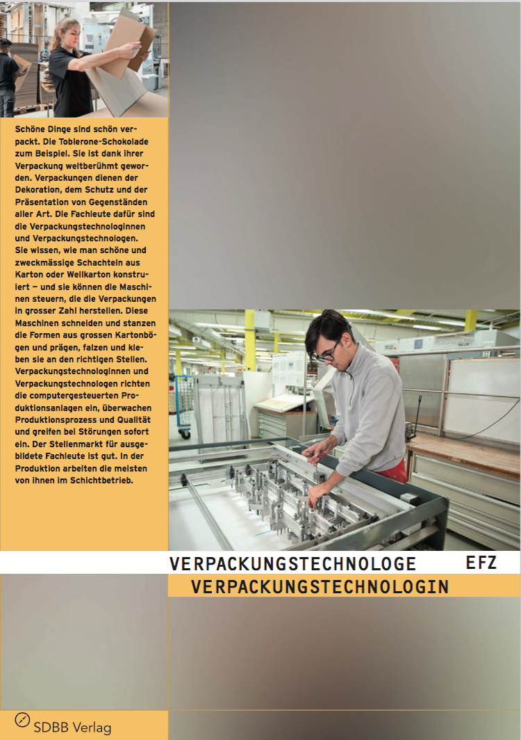 Cover Verpackungstechnologe